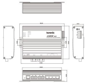 ethernet-switch-JetNet-4006f_dimensions