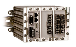 Managed Industrial Ethernet Switch RFI-18-F4G-T4G-F8
