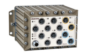 Managed Industrial Ethernet Switch rfr-12-fb